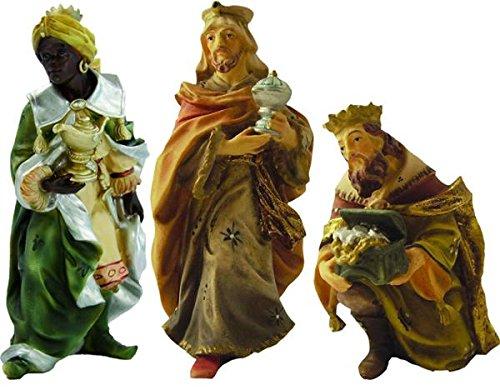 Heilige drei Könige, 3tlg. geeignet für 9cm Figuren