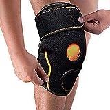 Impacco di ghiaccio per lesioni al ginocchio - Supporto per ginocchio con cuscinetto in gel - Terapia riutilizzabile a freddo per dolori articolari, artrite da borsite, strappo di menisco