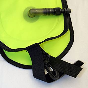 Promate Scuba Diving Inflatable Safety Tube Sausage Signal Marker Buoy Tube
