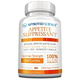 Approved Science® Appetite Suppressant - Increase Satiety, Help Reduce Cravings, Regulate Blood Sugar - Gymnema Sylvestre, African Mango - 60 Vegan Friendly Capsules