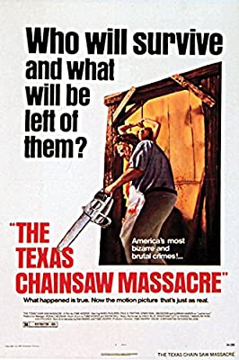Texas Chainsaw Massacre Movie Poster or Canvas