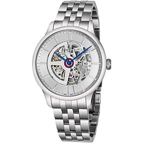 Perrelet Men's 42mm Steel Bracelet & Case Automatic Analog Watch A1091-4