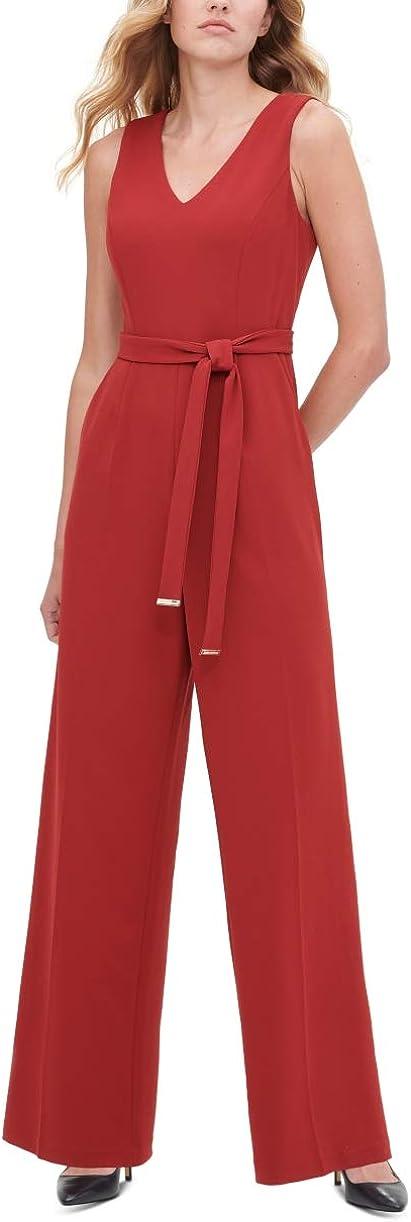 Tommy Hilfiger Women's Bow Tie Jumpsuit