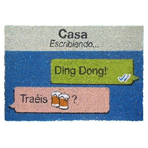Dcasa - Felpudo original cerveza 40x60 cm.