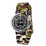 EasyRead time Teacher ERW-BKG-PT-GC Armbanduhr zum Erlernen der Uhrzeit für Jungen - Englisch