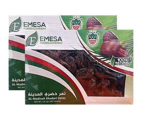 Al Madinah Khudari Dates - Pack of 2 - 2LBS/907g - تمر خضري المدينة