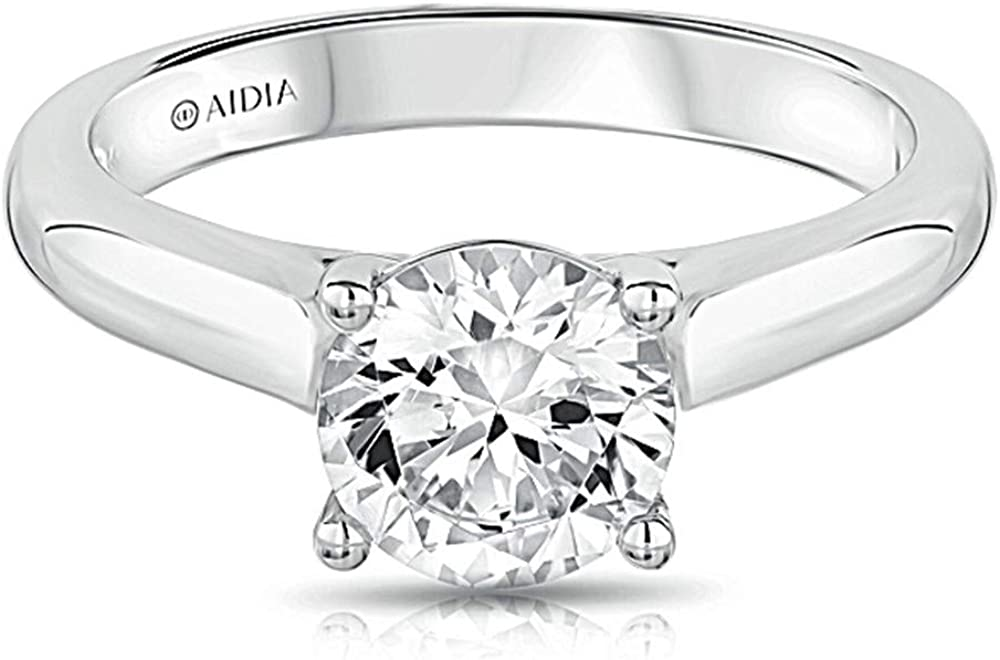 IGI Certified 1 In a popularity Credence Carat Lab Engage Diamond Solitaire Grown Classic
