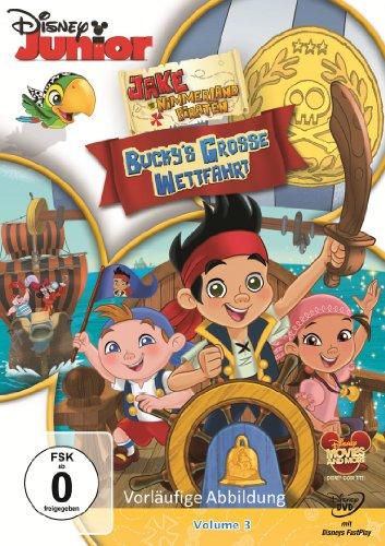 Jake und die Nimmerland Piraten Vol. 3 - Bucky's große Wettfahrt
