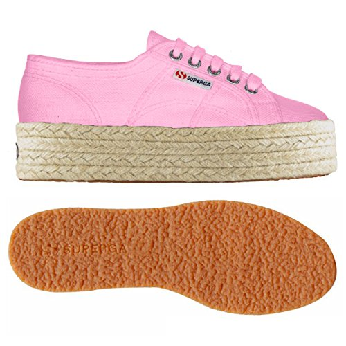 Superga , Damen Sneaker rosa Pink Begonia Espadrille