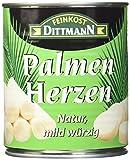 Feinkost Dittmann Palmenherzen natur, mild-würzig, 2er Pack (2 x 750 g)
