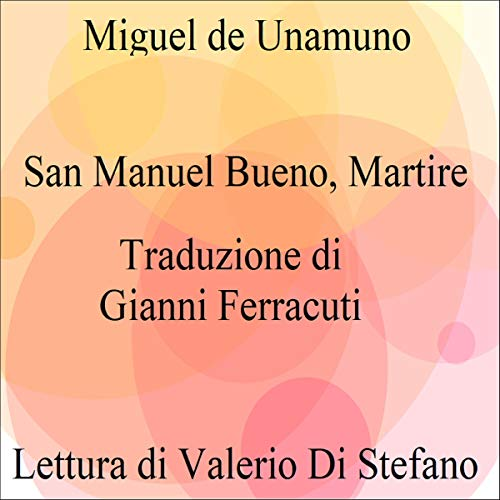 San Manuel Bueno, martire copertina