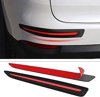 PoeHXtyy 2 STÜCKE Universal Anti Collision Patch Auto Stoßstange Schutzleiste Anti Scratch Stoßstangenschutz
