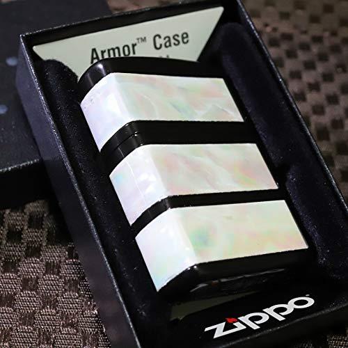【限定ZIPPO】 アーマーシェル3ライン マットブラック 3面加工 限定ジッポ レアジッポ 限定100個シリアルナンバー入り
