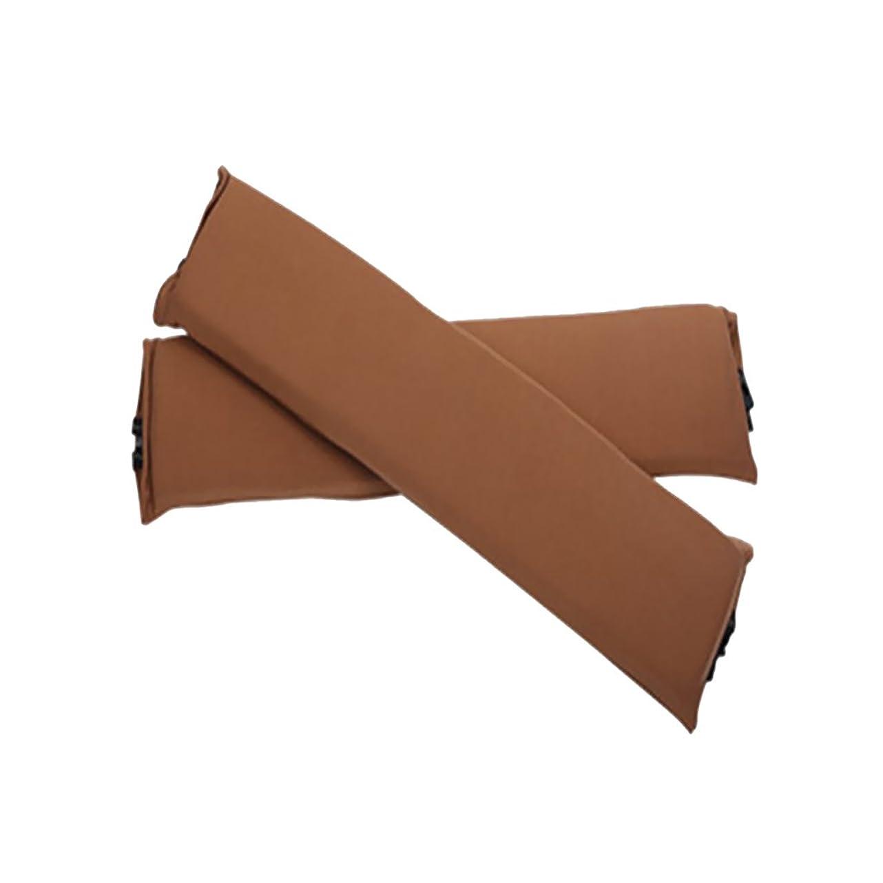 統計的レコーダーアルコールジッパー 弾性 椅子アームカバー チェア 肘掛カバー 椅子のアーム 保護 1ペア入り 利便性 全5色 - 褐色, 説明したように