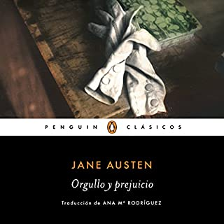 Orgullo y prejuicio [Pride and Prejudice] audiobook cover art