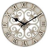 La Crosse Technology BBB86491 Cast Iron Indoor/Outdoor Wall Clock, 14'