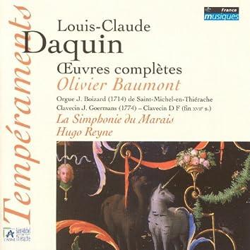Daquin: Oeuvres complètes (orgue J. Boizard à Saint Michel-en-Thiérache)
