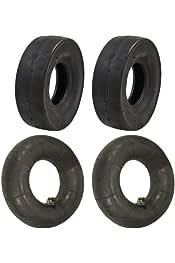 4.10x3.50x4 New 4.10 x 3.50 x 4Slick Tire 2 Ply Tire