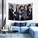 PatriciaHMarin One Direction Tapestry Wall Hanging Art Home Decoration for Ceiling Living Room Dorm Bedroom Kitchen 60x41 Inches