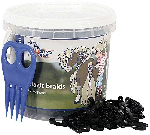 Harry's Horse Magic Braids, Pot, Farbe:schwarz