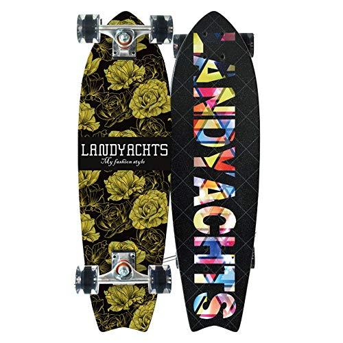 LJHBC Skate Longboard Cruiser 30 Pulgadas Patineta Standard Tabla De Surf for Niños Rueda 78U Alta Elástica. Cubierta De Arce De 7 Pisos Capacidad De Carga 220 Lbs. (Color : #5)