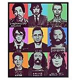 David Bowie, Elvis, Johnny Cash, Jimi Hendrix, Mick...