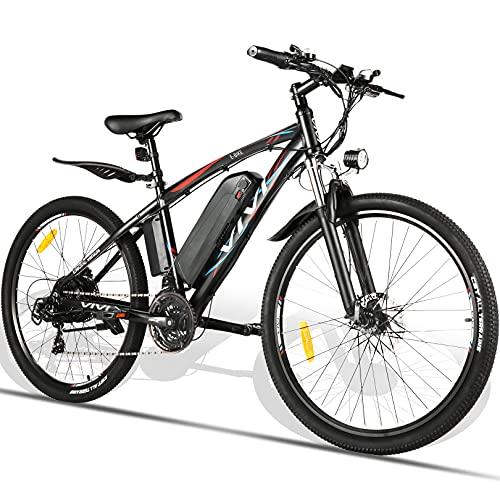 """VIVI Biciclette Elettriche 27,5"""" Bici Elettriche per Adulti, Mountain Bike Elettrica, 500W, batteria rimovibile da 48V/10,4 Ah, Bicicletta Elettrica Pedalata Assistita, Velocità Fino a 40km/h"""