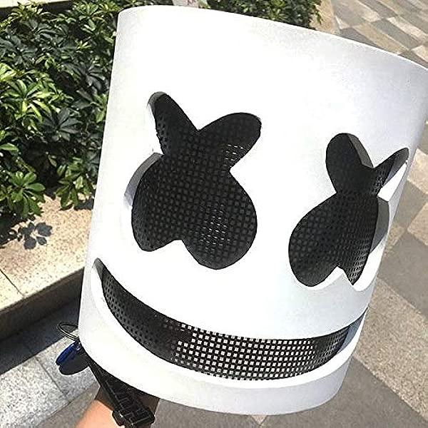 Drunkenman DJ Marsh Full Head Helmet Cosplay Mask Music Party Props Bar Halloween