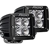 Rigid Industries 202113 LED Light (D-Series Pro, 3', Flood Beam, Pair, Universal), 2 Pack