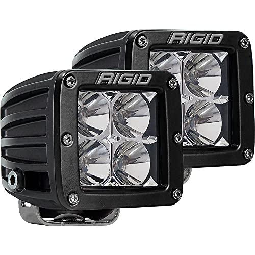 "Rigid Industries 202113 LED Light (D-Series Pro, 3"", Flood Beam, Pair, Universal), 2 Pack"