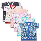 BAYBEE Baby Boys' & Baby Girls' T-Shirt (Pack of 6)
