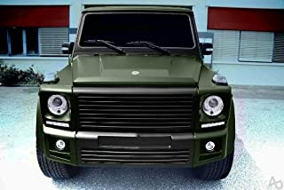 VViViD Matte Military Army Green 5ft x 70ft 350sq ft Cast Vinyl Decal Bubble-Free Car Wrap Interior