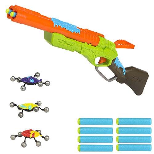 X-Shot–Bogen, 8Pfeile und 2Insekten Gewehr