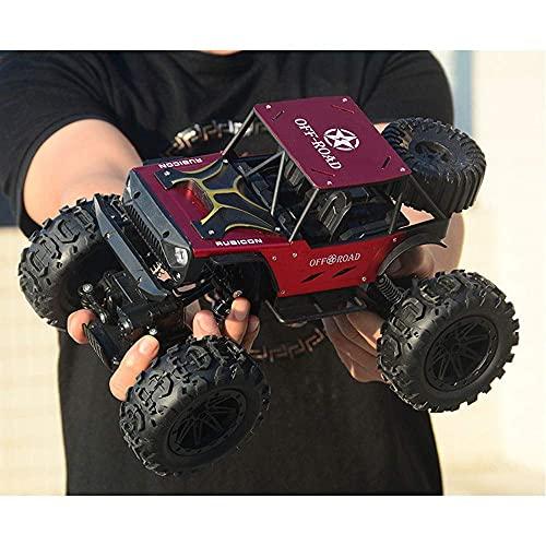 GLXLSBZ Coches a Control Remoto, Coche de Control Remoto Todoterreno Grande a Escala 1/14, Coche de Control Remoto Electri4WD Drift, camión de aleación Bigfoot Monster RC, Radio de 2,4 GHz RC Cli