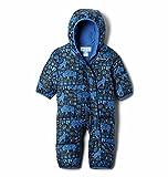 Columbia Snuggly Bunny Bunting Mono de esquí, Unisex bebé, Azul (Night Tide Camo Critter), 3/6