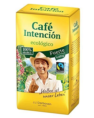 Café Intención ecológico Fuerte BIO 500 g gemahlen