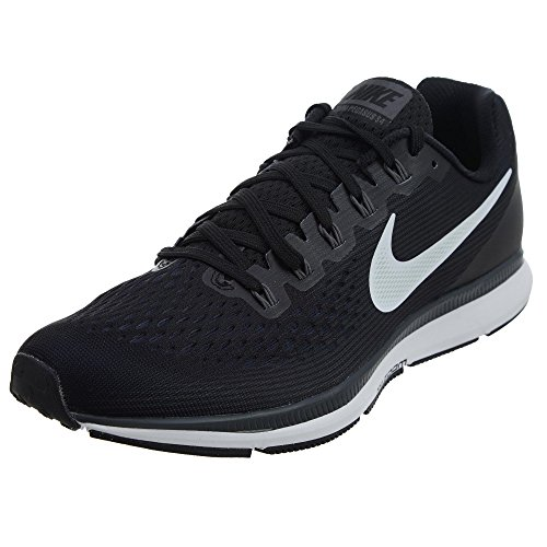 Nike Men's Air Zoom Pegasus 34 Running Shoe Black/White-Dark Grey-Anthracite 12.0