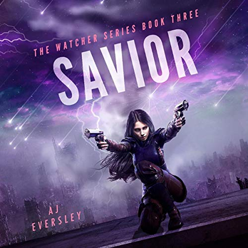 Savior - Book Three of the Watcher Series audiobook cover art