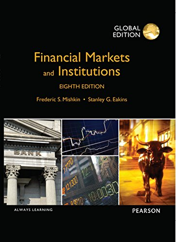 Price comparison product image Financial Markets and Institutions