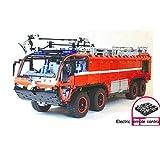 Zenghh Technic el coche de bomberos, camiones 118.1in Bloque de construcción kit 2.4G control remoto Racing Sports Car Model Set Modelo automático de alta dificultad Asamblea juego de rompecabezas for