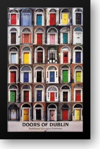 Doors of Dublin 16x24 Framed Art Print by Real ireland