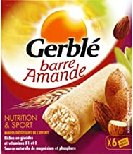 gerblA – Nutrition Bars Sport Almond-Rich wheatgerm Box 150g Organic Product Approved by ab – Unit Price Estimated Price : £ 20,39