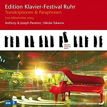 Transcriptions & Paraphrases: Wagner - Strauss (Edition Ruhr Piano Festival, Vol. 9) (Live)