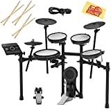 Roland TD-17KV Electronic Drum Set Bundle with 3 Pairs of Sticks, Audio Cable,...
