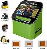 Film Scanner with 22MP High Resolution Slide Scanner Converts 35mm, 110 & 126