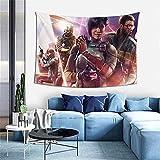 Tapiz para colgar en la pared del arco iris, seis, asedio, reproductor de videojuegos, tapiz para dormitorio, decoración de pared, manta de playa de 100 x 150 cm