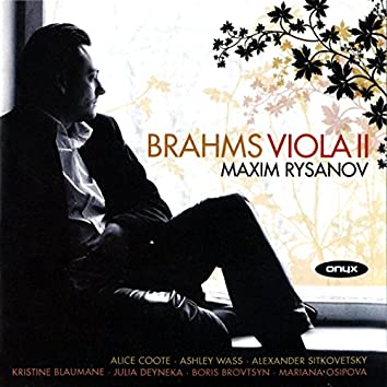 Brahms: Quintet, Two Songs and String Quintet