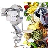 CULER Argento in Lega di Alluminio Spaghetti Pasta Maker Cavatelli Fettuccine Noodle Macchina della pressa di caffè della Cucina della casa di Cottura della Pasta Helper