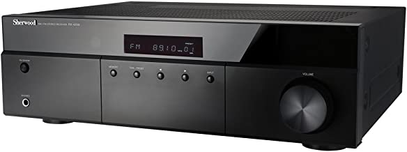 Sherwood RX4208 200W AM/FM Stereo Receiver, Black