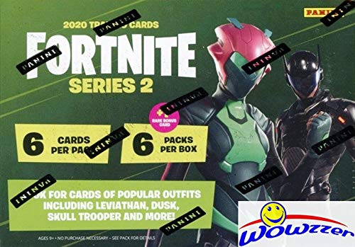 2020 Panini FORTNITE Series 2 Trading Cards EXCLUSIVE Factory Sealed...